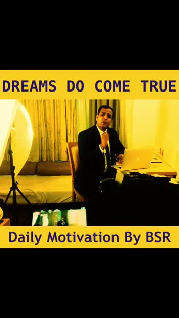 If you can dream it, you can do it .  Watch this short video . It will inspire you a lot. #dream #thinkbig #thinkdifferent #succeed #success #focus #powerofone #youcandoit #skyisthelimit #motivation #motivationalspeaker #coachbsr #happy #breakthrough #businesscoach