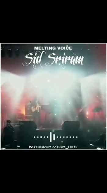 #sidsriram #tamilhitsongs #melodious