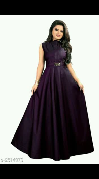 westrun gowns Rs.500