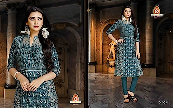 SILK INDIA PRESENTED MISHKA COLLECTION  #designerkurti #indianwear #ethnicwear #stylishkurti #festivewear #simplewear #officewear #collegewear #printedkurti #bluecolour to know more details please whats app on 9820936178