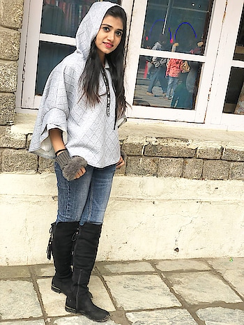#winterFashion #boots #hoodie !