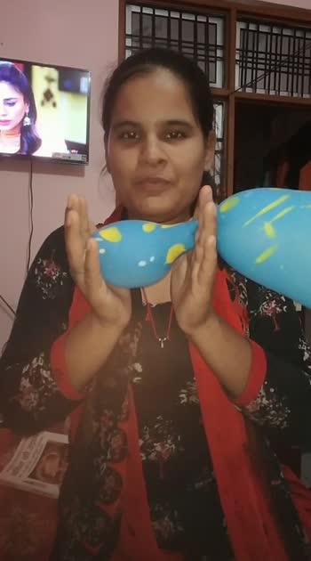 magic #challenge #challengingstardarshan #balloon #trythis