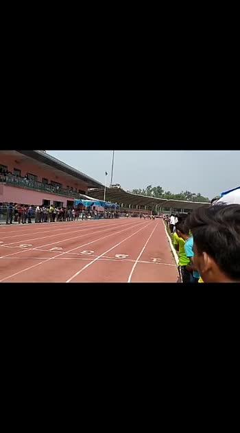 Sport 100m running