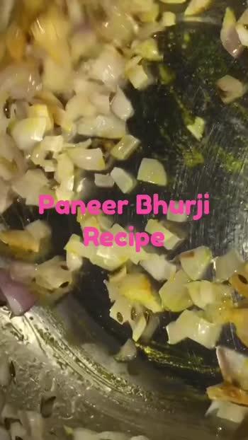 Recipe of Paneer Bhurji #Foodies #TastyFood #LoveForFood #Health #Nutrition @roposoindiaofficial