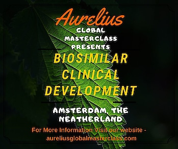 Biosimilars Training. Aurelius welcomes you to a global Biosimilars Training on Advance Biosimilars Clinical development In this Biosimilars Clinical Development Masterclass participants will Tailored clinical development path In-house training. Place Amsterdam, Europe https://aureliusglobalmasterclass.com/events/advancing-biosimilars-clinical-development/