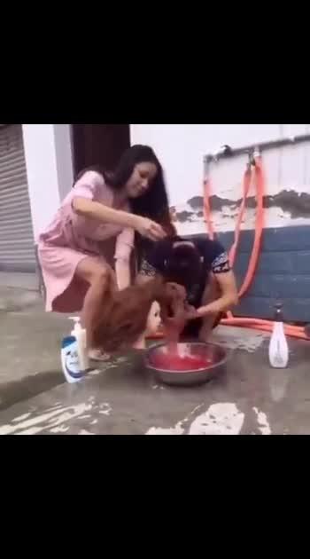 new shampoo invented 😎🙈
