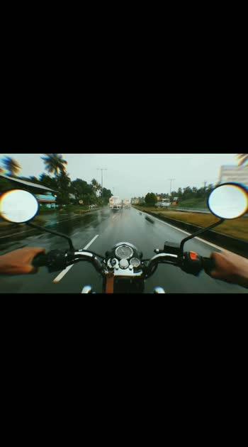 ride always. ......ride the rain