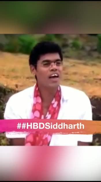 #HBDsiddharth