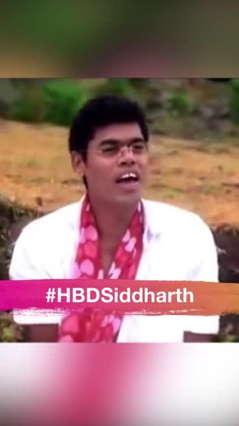 #HBDSiddharth Contest!