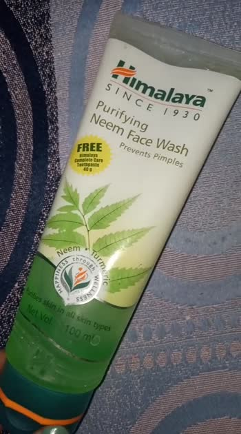 Himalaya Purifying neem face wash....for prevent pimples