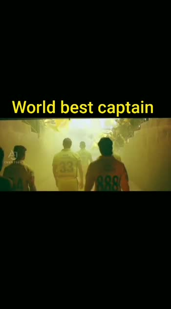 the captain the finisher the keeper the batsman....