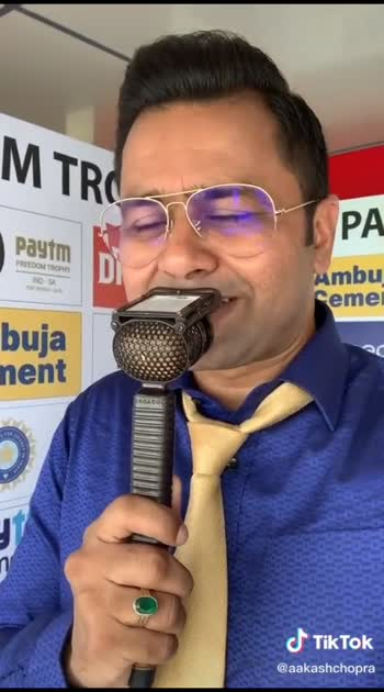 aakash Chopra  king commenter