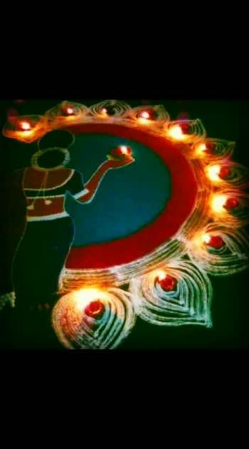 #diwali2019 #rangolichannel #rangolichannel #roposo