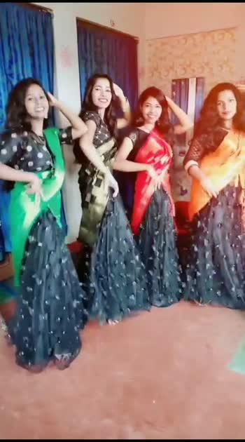 #danceindia #halfsaree #frindshipgoals #wowvideo