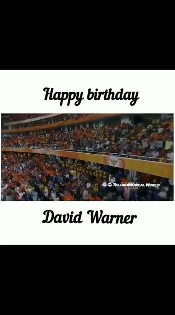 #davidwarner