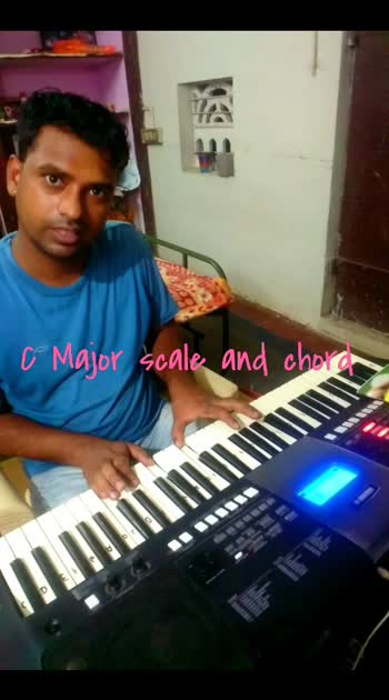 C major scale #C scale, #roposo-beats