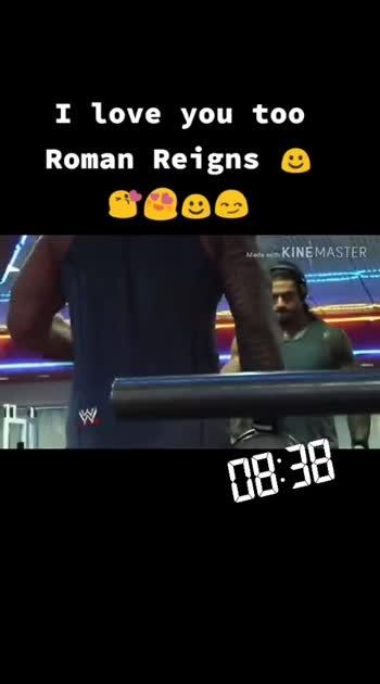 Roman reigns 😍😍😘#wwe bigdog😎
