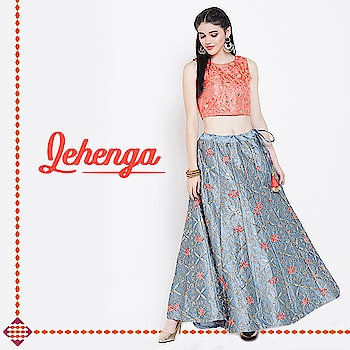 This lehenga is one of our #bestsellers. We are restocking it for you. Be on the lookout! 😊  #Ethnicwearonline #Ethnicwears #Womenethnicwear #Ethnic #indianethnic #ethniccollection #Ethnicfashion #ethnicdress #goethnic #likeforlikes #croptopskirt #dupattas #kurta #maxikurta #ethnics #bestseller #lehengas #lehengawedding #lehengagoals #lehengastyle #lehenga #lehengacholi #wednesdayvibes