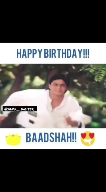 #happybirthday  #srk   #shahrukhkhan  #bollywood   #srkian  #shahrukh   #india  #kingkhan   #iamsrk  #srkfanclub #srkfans  #srklovers  #khan  #srkuniverse  #happybirthdaysrk