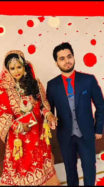 #geetgulzar #mewithmylife finally My grooming partner, Priya's vanity at aya nagar Gurgaon, my makeup artist priya singh at priya's vanity, given me this perfect bridal look n make me a perfect bride. 😍😍😍