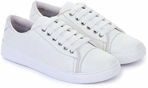 Princess baby Latest Collection, Comfortable & Fashionable Sneaker Shoes for Women's and Girl's  Closure: Lace-Up Color: White Package Contents: 1 Pair of Sneaker Shoes Occasion: Casual, Daily Wear; Toe Style: Closed-Toe These women's Premium Canvas Sneaker shoes combine the flexibility and feel of lightweight sneakers with a modern look.  https://amzn.to/2NGYAJD