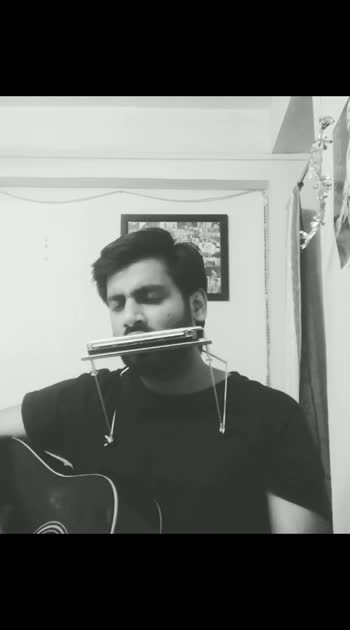 #guitarist #unpluggedcover #harmonica #hollywoodsong
