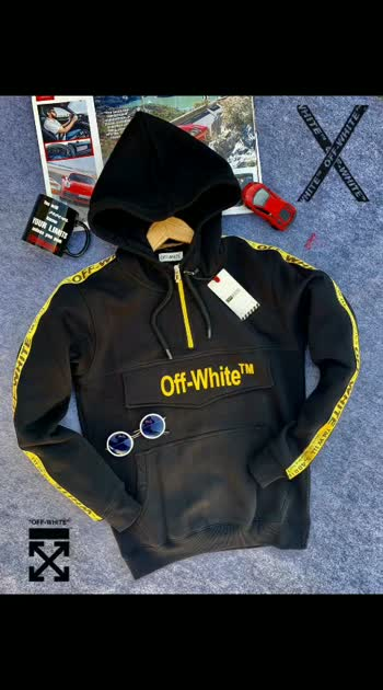 *OFF-WHITE sweatshirt❤❤❤* SURPLUS QUALITY   *10@ Quality ✅ Store Article ✅*  *Size-L XL XXL*  *Colours 4*  *@1300+ship/- 😊*  *Quality Fully Guaranteed*💯  *(DONT COMPARE THIS WITH CHEAP QUALITY)*  ❤❤❤❤❤❤ Pp