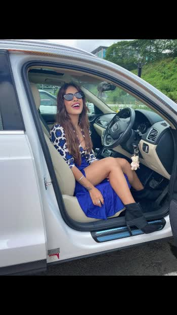let me know in comment section that which one is good Candid or Non Candid 😋😋♥️ : : #candid  #happyface  #happygirl #carlover #lovelycar #poser #queen #bollywood  #inoxmovies #randomclicks #randomclicks #feelingblue with #blueoutfit #styleblogger #fashionblogger #stylo #mumbai #mumbaidiaries #happygirl #happiness #nehamalik #model #actor #blogger #instagood .