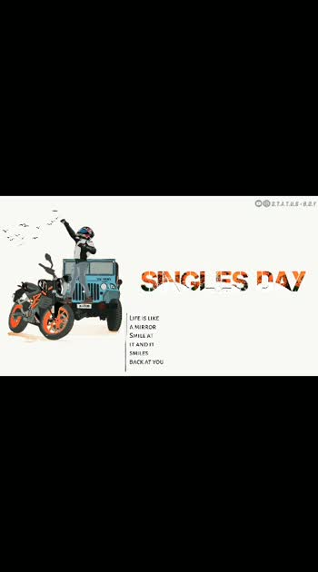 #Happy singlesday#