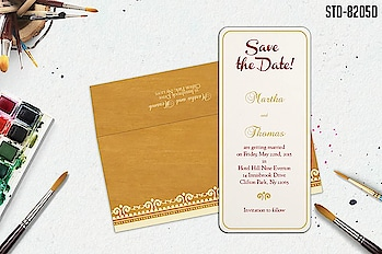 Shop for affordable save the date cards start at just $0.45 per card – perfect for the budget-conscious brides. Shop Here:  https://www.123weddingcards.com/save-the-date-cards   #savethedate #savethedatecards #savethedateinvitations #weddingsavethedates #weddingstationery #bridalshowercards #announcementcards #123WeddingCards
