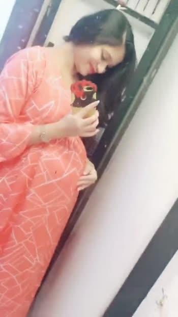 #cutie #baby #pregnancy #momtobe #8thmonth #pregnantlife #waitingforyou #ummmmmmmahhhhhha #roposostar #roposo #love #babydoll #kids