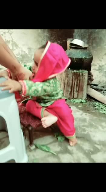 #cute-baby #punjaban #punjabisuitsalwar