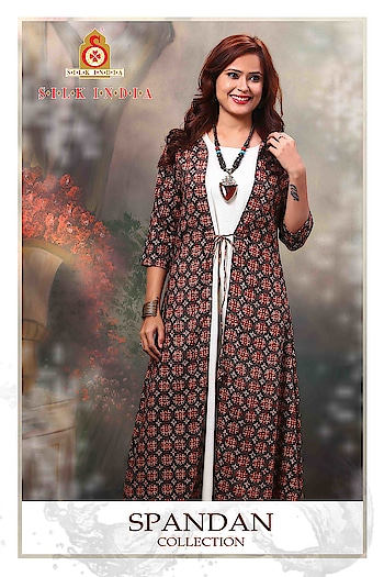 SILK INDIA PRESENTED SPANDAN COLLECTION  #designerkurti #ethnicwear #indianwear #womenskurti #simplewear #officewear #festivewear #factionwear #onlineshopping #printedkurti #polycotton #whitekurti #maroonkurti to know more details please whats app on 9820936178