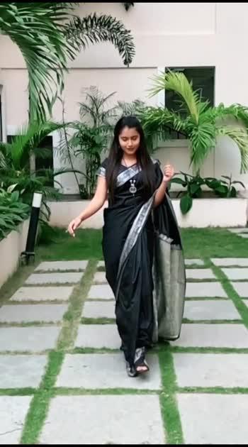 Black Saree.