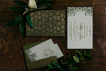 Gorgeous lush green wedding invitation card perfect for emerald or lush green forest-inspired weddings. Price as low as $1.75 only! More Details: https://www.123weddingcards.com/card-detail/D-810D  #invitations #weddinginvites #lushgreeninvitation #greenweddinginvitationcard #weddingcards #marriagecards #birthdaycards #engagementcards #123WeddingCards