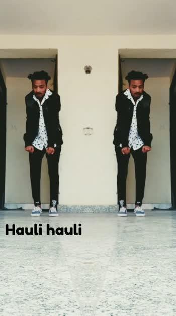 #hauli_hauli #roposostar #punjabiway #dance