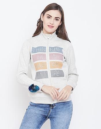 Madame - Casual Women Sweatshirt  Link: https://bit.ly/2QjWPFg  #sweatshirt #womenfashion #wintercollection2019 #jacket #tracksuit #trousers