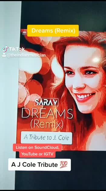 Dream (Remix) A tribute to J Cole ❤️🤩  #rap #hiphop #vibes #viral #jcole #dreams #thewarmup #coleworld #dreamville #boombap #roposo-talent
