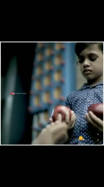 Sweet apple with sweet kid