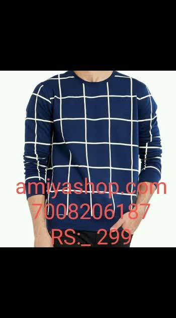 """Trending Checked Cotton Blend T-Shirt"" Available in  Website name: amiyashop.com Number: 7008206187 #tshirt #tshirts #tshirts #tshirtstyle #tshirtlove #tshirtformens #tshirtformens #viral #viralvideo"