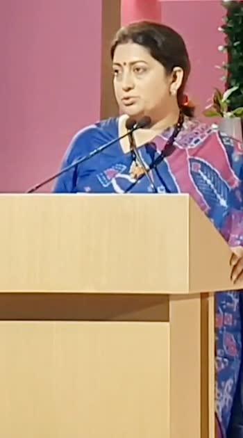 #unionminister#smriti_madhana#speech