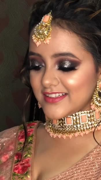 MY BEAUTIFUL PARTY MAKEUP FOR BRIDES SISTER. #weddinglooks #partymakeup