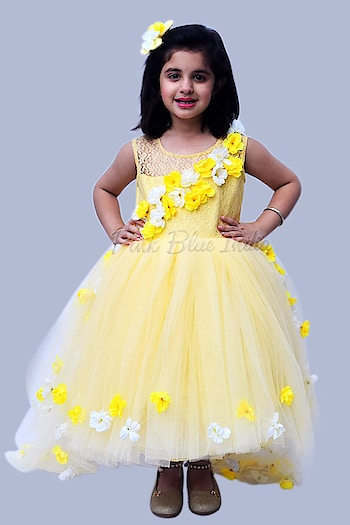 Buy Yellow Colour Party Wear Gown Dress for Baby Girls Online To order, please connect with us on WhatsApp here, https://api.whatsapp.com/send?phone=918003550118 or Shop Online @ https://www.pinkblueindia.com/yellow-party-wear-gown.html  #kidspartyweardress #flowergirldress #kidsdress #birthdaydress #kidsballgown #childrensclothing #flowergirl #kidsfashion #girlweddingdress #babygirldress #babydresses #babyfashion #birthdayfrocks #kidswear #girldress #onlineshopping #babybirthdaydress #kidsbirthdayfrocks #usa #uk #australia #pinkblueindia