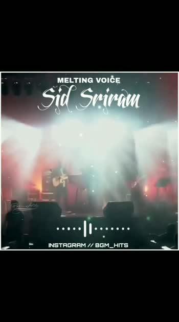 #sidsriram