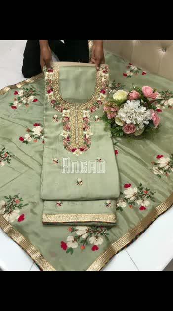 Handwork on silk beautiful duppta  Order now 8707825310