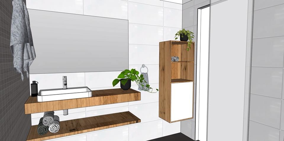 Check out this beautiful design concept created by one of our talented designers!  Did you know that 3D design rendering is inclusive in our services for creating your dream bathroom?  Contact us today P: 02 4047 2100 E: shane@novocastrianbathrooms.com.au