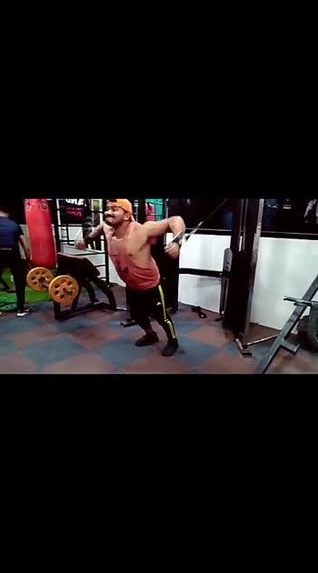 #gymmotivation #gymfreak #roposo-beats #roposobeauty