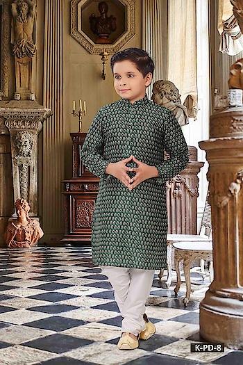 SILK INDIA PRESENTED PRINTED DELIGHT COLLECTION  #designerwear #indianwear #westernwear #onlineshopping #kidswear #withbottom #digitalprinted #printedkurta #whitebottom #greenkurta #stylishkurta to know more details please whats app  on 9820936178