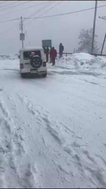 Snowfall Shimla