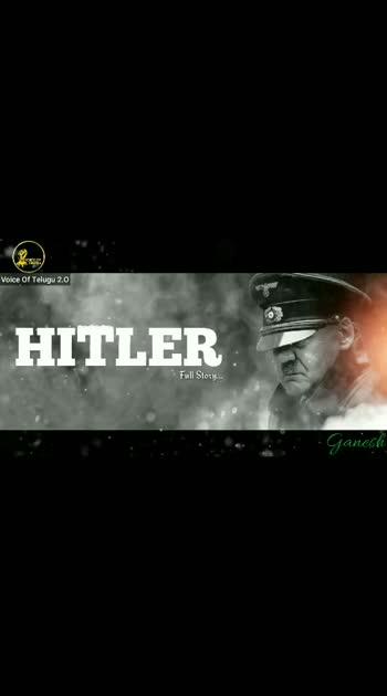 #Life History#Of Hitler#Motivation #Of Voice of Telugu#.....